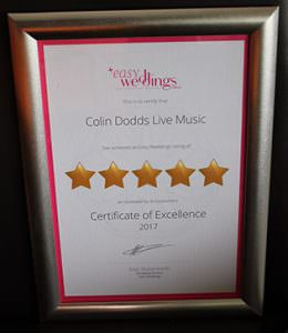 Colin Dodds Music 5 Star Review
